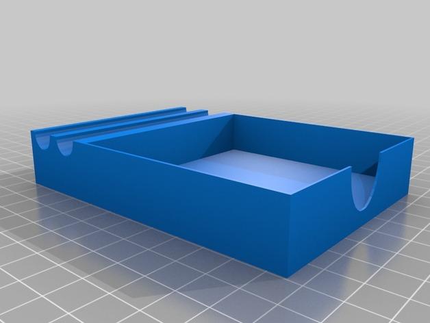 笔架 笔盒 3D打印模型渲染图