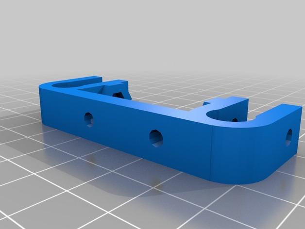 Prusa Mendel i2打印机X轴限位开关支架