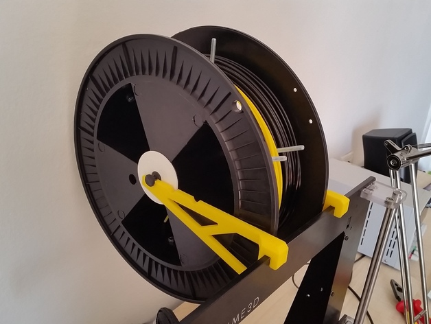 线轴支撑架 3D打印模型渲染图