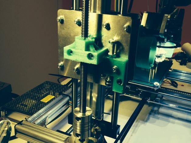 k8200打印机Z轴部件 3D打印模型渲染图