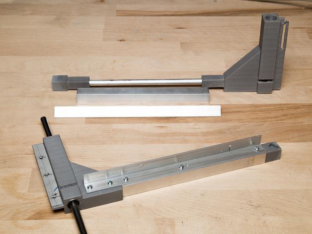 Duplicator 打印机热床支撑臂 3D打印模型渲染图