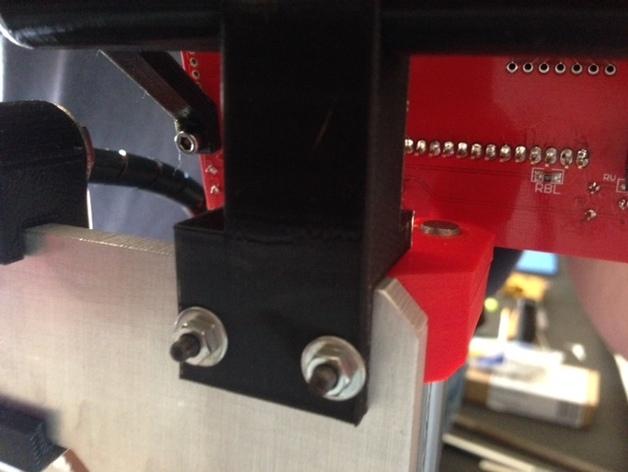 RepRep控制器液晶显示屏支架