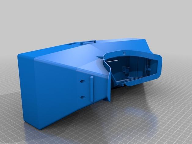虚拟现实眼镜盒 3D打印模型渲染图