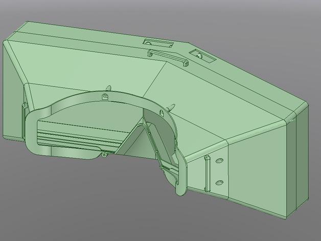 虚拟现实眼镜盒