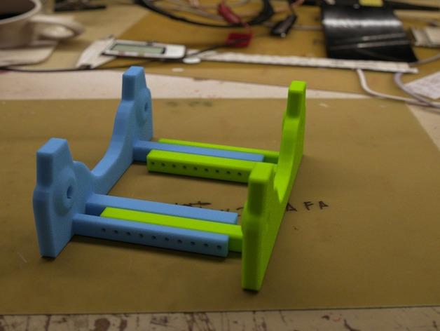 通用式线轴支架 3D打印模型渲染图