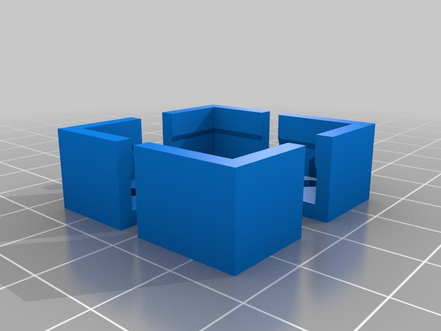 Flashforge/Replicator打印床边角保护器