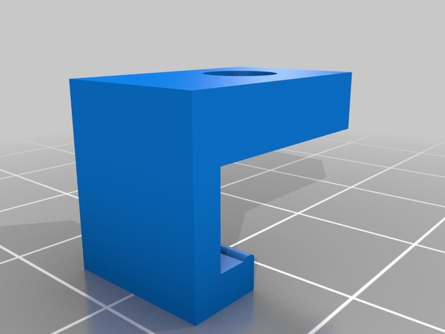 QU-BD One/Two-Up 打印床调平器螺母支架