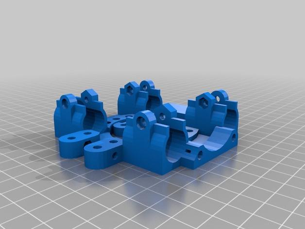 打印机X轴自动调平器支架