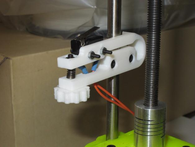 MendelMax 打印机Z轴限位开关