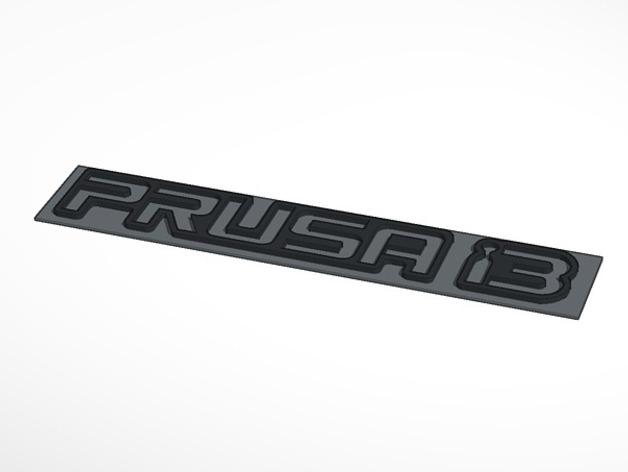 Prusa i3标志