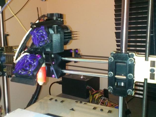 Printrbot PLUS打印机替换套件 3D打印模型渲染图