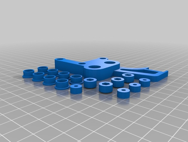 Prusa i3打印床调平器弹簧套件