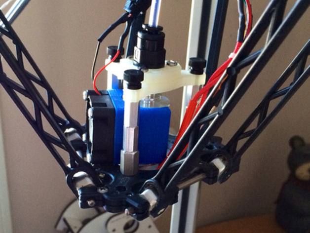 喷头支架 3D打印模型渲染图