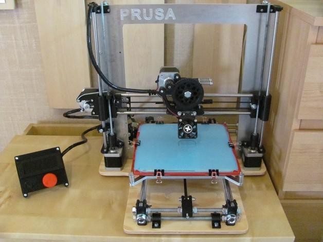 打印床安装支架 3D打印模型渲染图