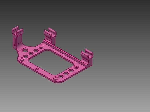 Ramps (2)电路板支撑架 3D打印模型渲染图