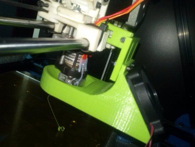 60毫米的风扇支架 3D打印模型渲染图