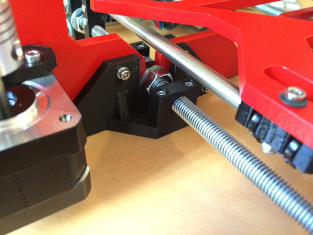 螺杆固定器 3D打印模型渲染图
