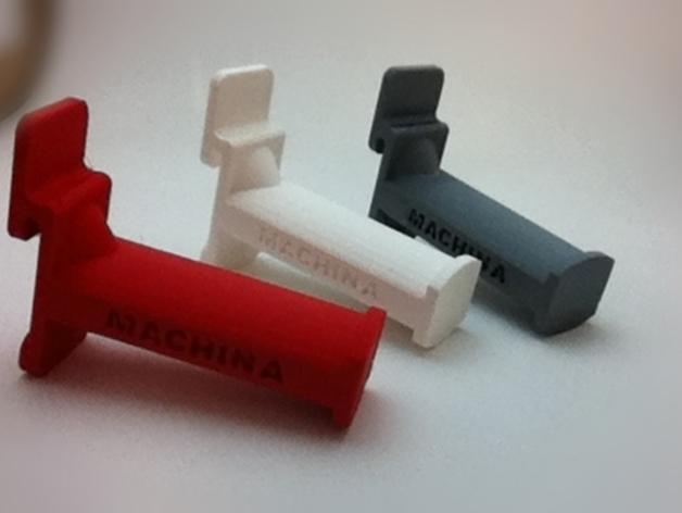 线材卷支架 线轴支架 3D打印模型渲染图