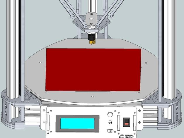 Gelta 3d打印机