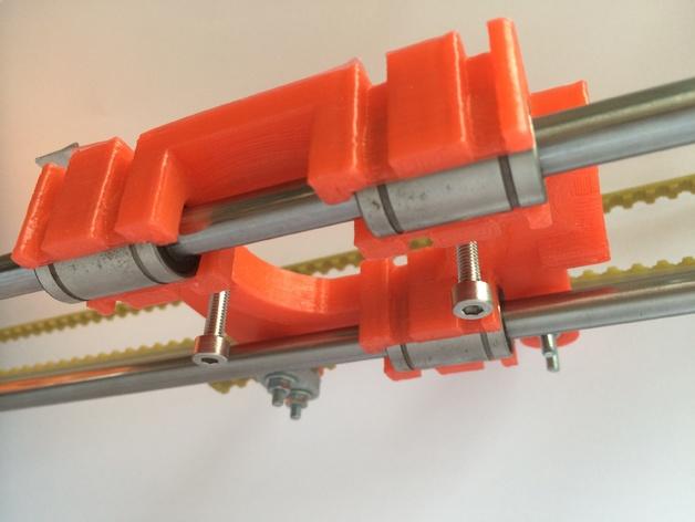 皮带固定器 挤出机支架