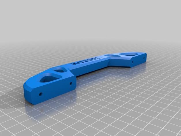 Mini Kossel打印机的线轴支架