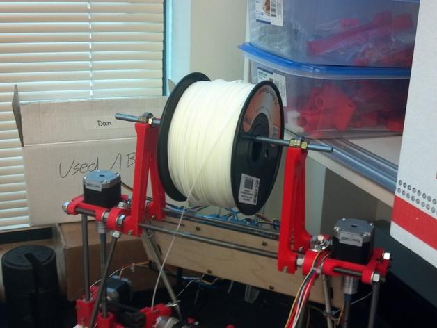 Prusa i2打印机线轴支架 3D打印模型渲染图