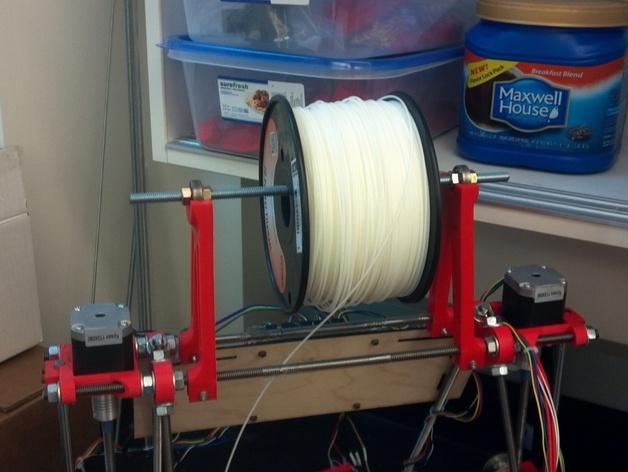 Prusa i2打印机线轴支架