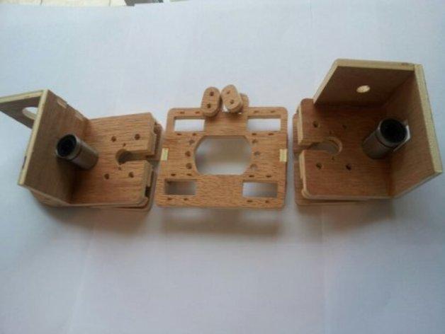 MendelMax打印机木质部件