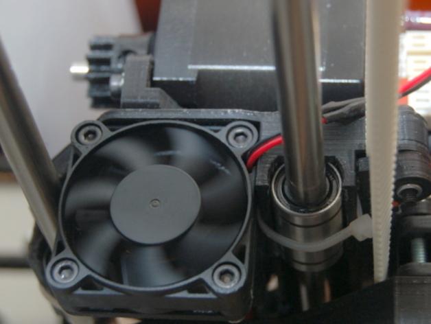 风扇支架 3D打印模型渲染图