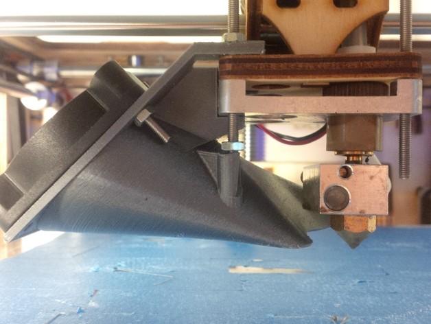 Ultimaker 打印机风扇导管