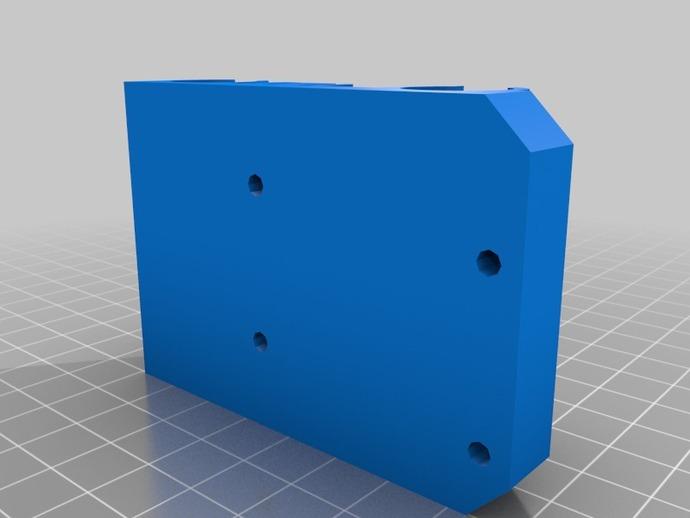 prusa i3打印机X轴固定件