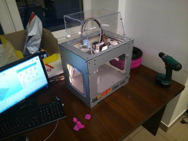 新的IdeaLab 3D打印机 3D打印模型渲染图
