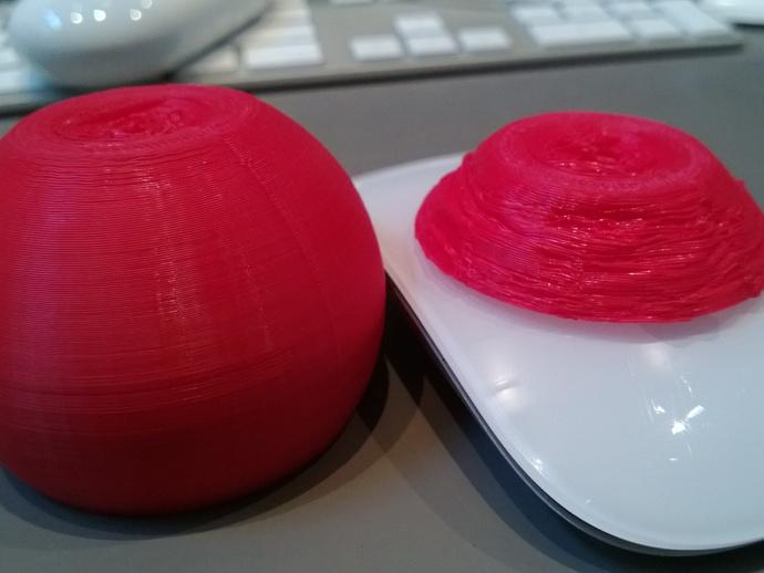 Replicator 2X打印机风扇通风导管 3D打印模型渲染图