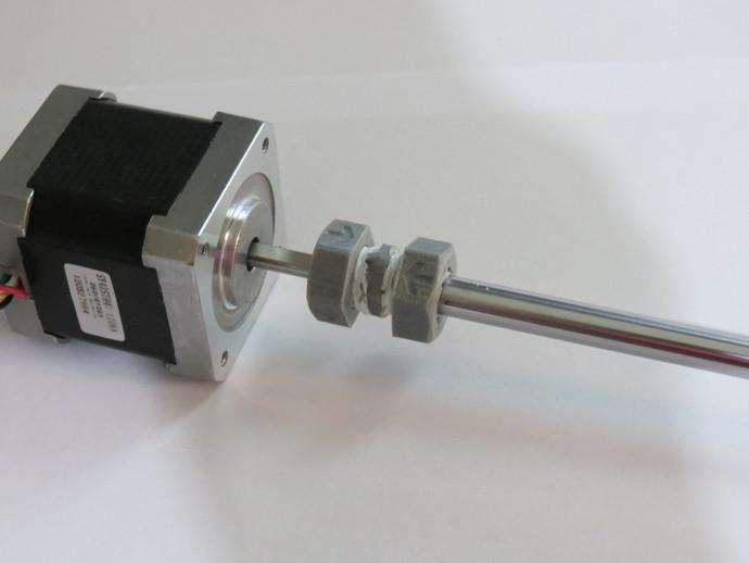 轴杆耦合器 3D打印模型渲染图