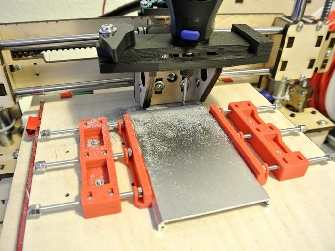 铣削钳 3D打印模型渲染图
