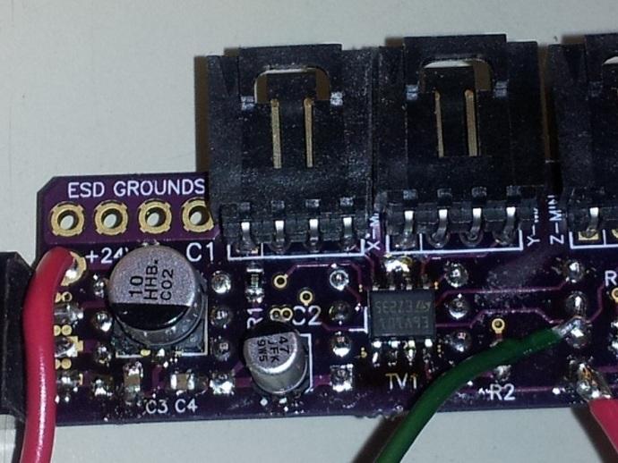 电路板保护框 3D打印模型渲染图