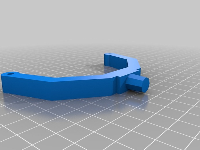 可调节尺寸的线轴支架