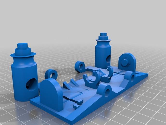 线材监测器 3D打印模型渲染图