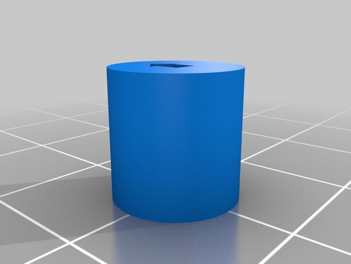 圆柱 3D打印模型渲染图