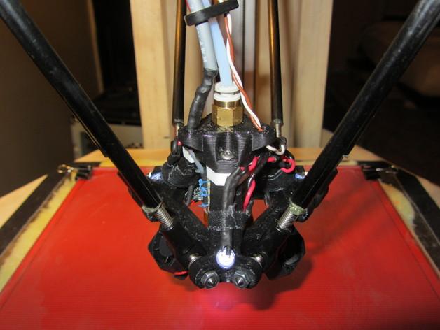 探针头 自动调平器 3D打印模型渲染图