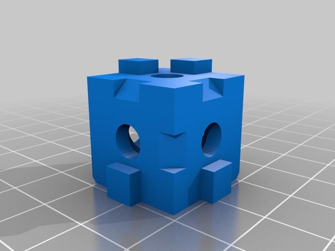 打印机拐角连接器