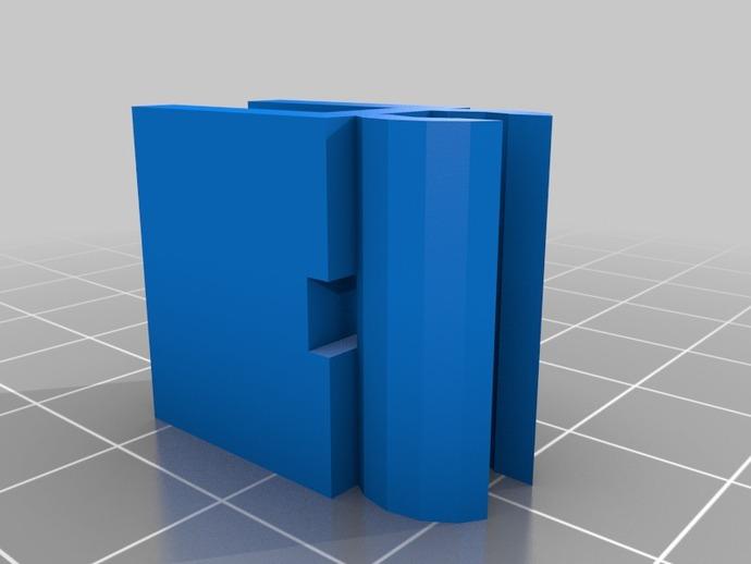 打印机热床电缆夹