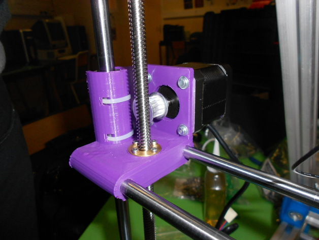打印机X轴螺丝钉和轴承连接器