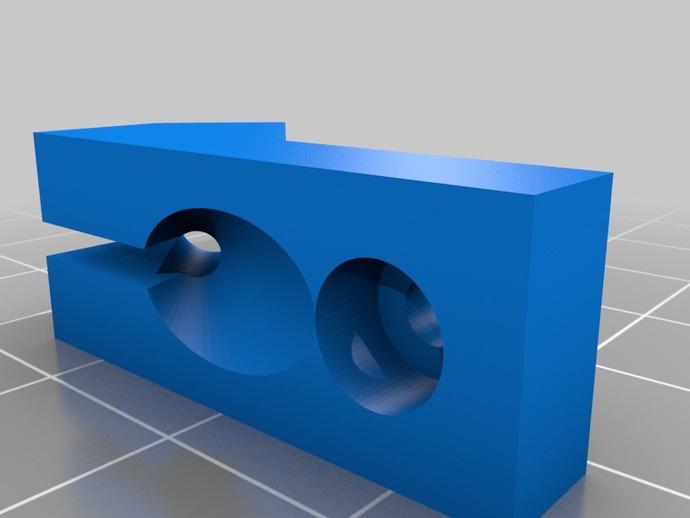 迷你型的线材夹 3D打印模型渲染图