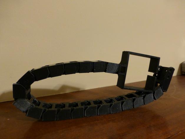 步进电机电缆锚链 3D打印模型渲染图