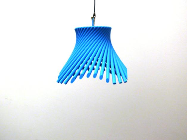 灯罩 花瓶 3D打印模型渲染图