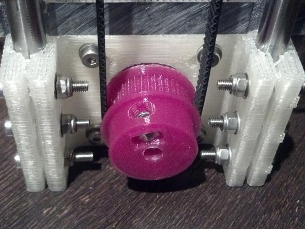 齿轮 皮带滑轮 3D打印模型渲染图