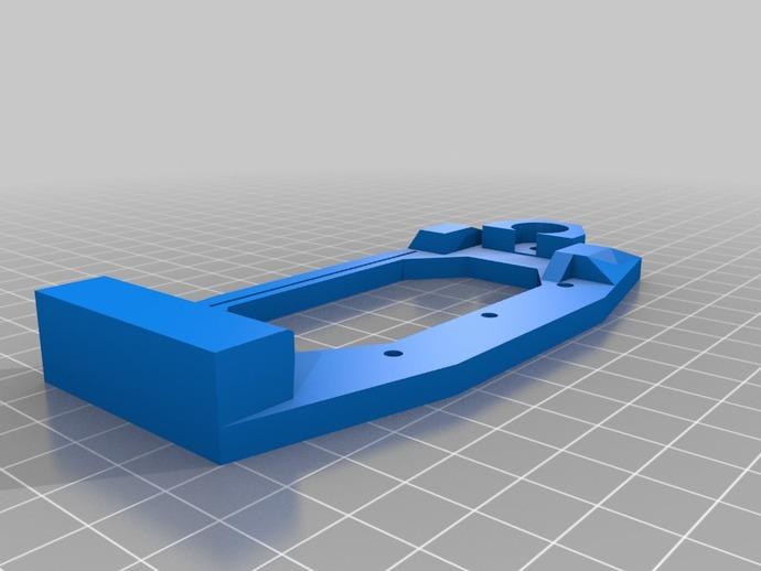 Printrbot 打印机的X轴部件 3D打印模型渲染图