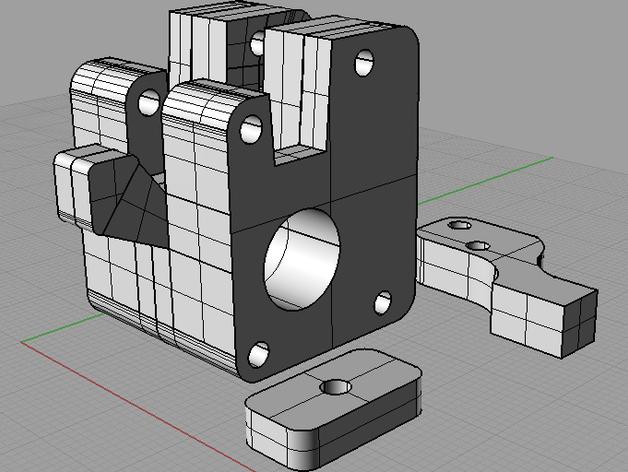 Ultimaker打印机XY轴的滑块