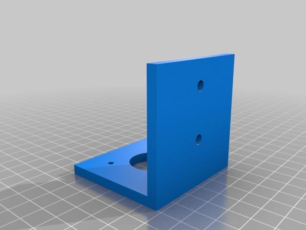 Nema 17步进电机支架 3D打印模型渲染图